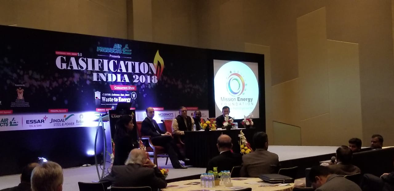 Susteon participates in Gasification India 2018 Conference Panel